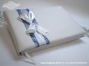 Knjiga gostiju za vjenčanje Blue & White