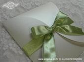 Pozivnica za vjenčanje Green Beauty