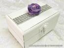 Škrinjica za vjenčano prstenje - Purple Shine