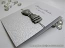Zahvalnica za vjenčanje - Silver Shine Bow