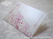 Zahvalnica za vjenčanje Pink malina