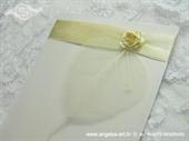 Zahvalnica za vjenčanje White Romance