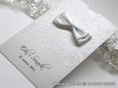 Zahvalnica za vjenčanje - White and Silver Charm