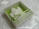 Konfet za vjenčanje Magnet bijelo zeleni anđeo