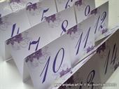 Broj stola - Purple Orchid
