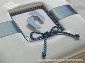 Ekskluzivna čestitka - Plave nogice