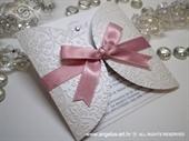 Pozivnica za vjenčanje Romantic Diva