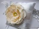 Jastučić za prstenje Romantična ruža