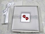 cestitka za vjencanje sa srcem