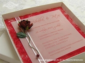 Ekskluzivna čestitka - Red Rose