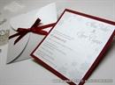 Pozivnica za vjenčanje - Red Winter Beauty