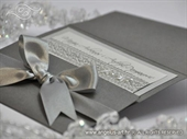 Pozivnica za vjenčanje Uhvaćeni u mreži - silver
