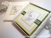Zahvalnica za vjenčanje Exclusive Green Book