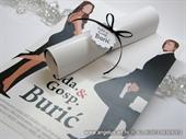 Pozivnica za vjenčanje - Film story Mr&Mrs