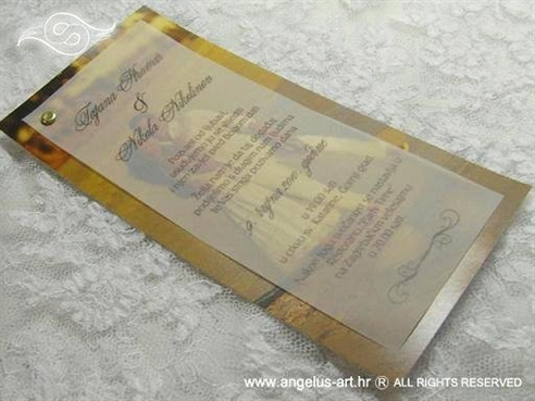foto pozivnica za vjenčanje s fotografijom