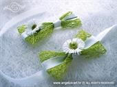 Kitica i rever za vjenčanje Zelena margareta
