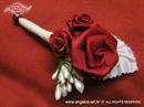 Kitica i rever za vjenčanje Red Rose