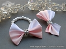 Kitice reveri - White Pink Bow