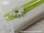knjiga gostiju bijela sa ivančicom i zelenim detaljima