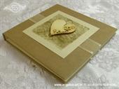 Knjiga gostiju za vjenčanje Drveno srce