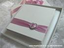 Knjiga za prstenje Pink srce