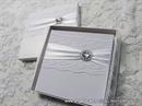 Stylish White Lace Jastučić za Prstenje