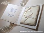 knjigica za prstenje s jastučićem unutra