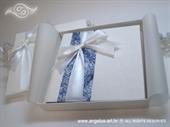 Knjiga za prstenje Bijela mašna
