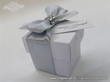 konfet kutijice za vjencanje sa srebrnom masnom i cirkonima