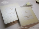 Cream Dots Guestbook-Knjiga dojmova