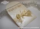 Pozivnica za vjenčanje Cream Lace Mini Beauty
