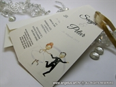 Pozivnica za vjenčanje - Wedding Bookmark