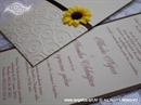 Pozivnica za vjenčanje Sunflower Charm