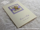 Zahvalnica za vjenčanje Ljubičasta zvijezda