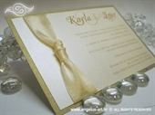 Pozivnica za vjenčanje Lovely in Cream 2