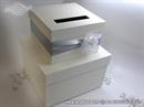 Kutija za kuverte - Silver Flower Cake