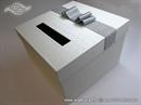 Kutija za kuverte-Kutija za novce - Silver Shine Box
