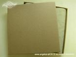 kutija za pozivnicu s drvenim uzorkom
