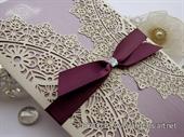 Pozivnica za vjenčanje - Luxury Lilac Divas