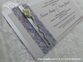 Pozivnica za vjenčanje Harmony Lila kala