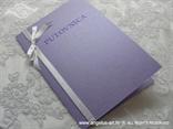 lila pozivnica za vjenčanje putovnica