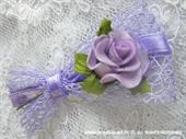 Kitica i rever za vjenčanje Ljubičasta mreža