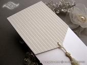 Pozivnica za vjenčanje - Elegant Cream Classic
