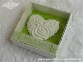 Poklon za goste - Bijelo srce