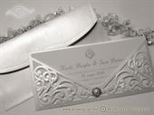 Pozivnice za vjenčanje - Luxury White Letter