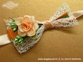Kitica i rever za vjenčanje Narančasta ruža