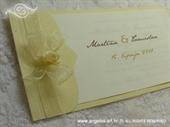 Pozivnica za vjenčanje Vintage Cream Rose