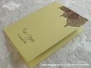 Zahvalnica za vjenčanje Natur list - print