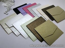 omotnica u obliku kuverte 13x13cm