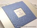 Pozivnica za vjenčanje Blue True Love